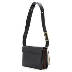 Fendi Black Leather ID Shoulder Bag