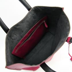 Fendi Pink/Black Leather All In Shopping Tote