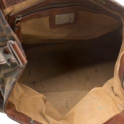 Fendi Brown Zucca Canvas Chef du Jour Tote Bag