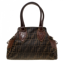 ad250dee778d Fendi Brown Zucca Canvas Chef du Jour Tote Bag