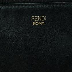Fendi Black Leather Crossbody Bag