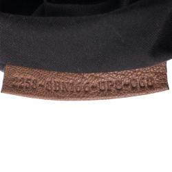 Fendi Brown/Black Leather B Bag