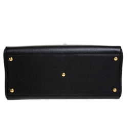 Fendi Black Leather Medium 3Jours Tote