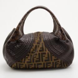 Fendi Zucca Turtle Small Spy Bag
