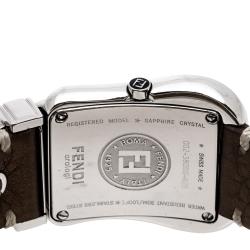 Fendi Mother of Pearl Stainless Steel Diamond B.Fendi 3800G Women's Wristwatch 33 mm
