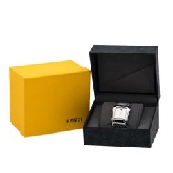 Fendi Silver Stainless Steel B. Fendi 3800G Women's Wristwatch 33 mm