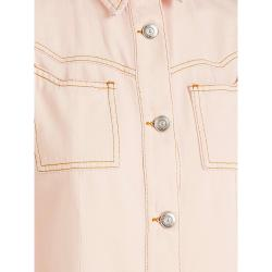 Ganni Pink Denim Shirt DK  34