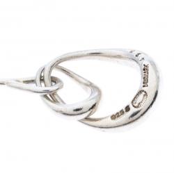 Georg Jensen Offspring Silver Hook Drop Earrings