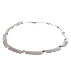 Georg Jensen Sliver Metal Motif Necklace