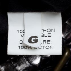 Gerard Darel Metallic Gunmetal Utah Python 24 Hour Drawstring Hobo