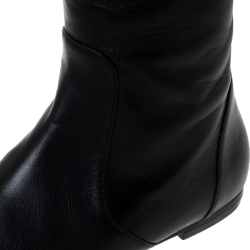Giuseppe Zanotti Black Leather Over The Knee Boots Size 36