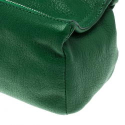 Givenchy Green Leather Pandora Clutch