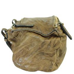 Givenchy Brown Leather Mini Pandora Bag