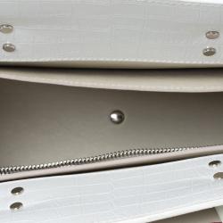 Givenchy Fuchsia/White Leather Horizon Tote
