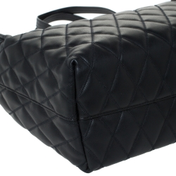 Givenchy Black Leather Duo Shopper Tote