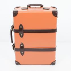Globe-Trotter Orange 3 Piece Luggage Set