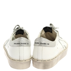 Golden Goose White Leather Clean Superstar Low Top Sneakers Size 40