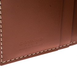 Goyard Black Goyardine Bi Fold Wallet