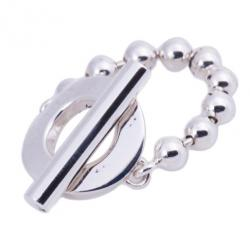Gucci Silver T-Bar Ring Size 54