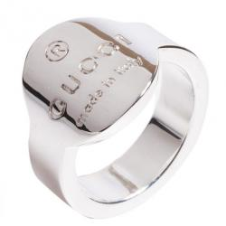 Gucci Round Logo Ring Size 52