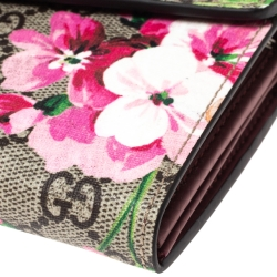 Gucci Multicolor GG Supreme Blooms Print Canvas Dionysus Wallet on Chain