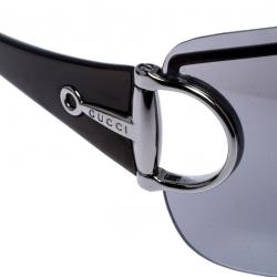 Gucci Grey GG 2711/S Horsebit Shield Sunglasses