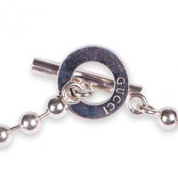 Gucci Silver Necklace with T-bar