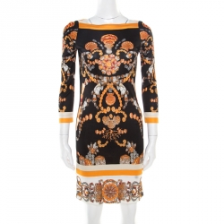 Gucci Brown Pleated Cocktail Dress