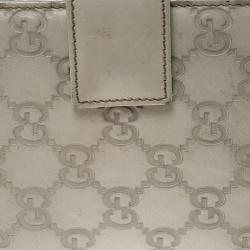 Gucci Light Beige Guccissima Leather Agenda Cover