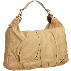 d8397b2eb57 Buy Gucci Brown Leather Large Jockey Hobo 62347 at best price