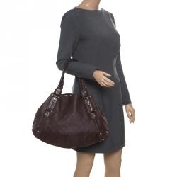 ee8fd6907616 Gucci Dark Brown Guccissima Leather Medium Horsebit Pelham Shoulder Bag