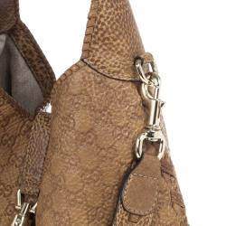 Gucci Deep Tan New Jackie Guccissima Leather Shoulder Bag