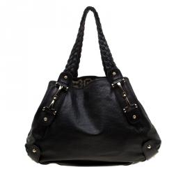 2bc04cb961c5 Gucci Black Guccissima Leather Horsebit Pelham Shoulder Bag