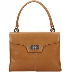 Gucci Light Brown Vintage Leather Everyday Bag