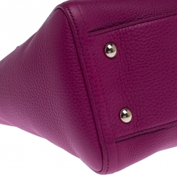 Gucci Fuchsia Pebbled Leather Soho Tote