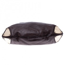 Gucci Brown Guccissima Leather Large Babouska Indy Hobo