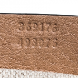 Gucci Beige Pebbled Leather Soho Working Tote