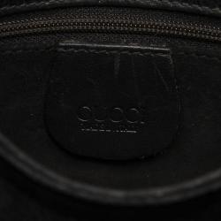 Gucci Black Leather Crossbody Bag