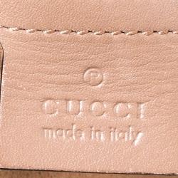 Gucci Old Rose Pink Matelasse Leather Medium GG Marmont Shoulder Bag