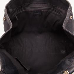 Gucci Black Monogram Ladies Web GG Large Tote Bag