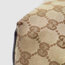 Gucci Brown Gucci Craft Original GG Canvas Tote