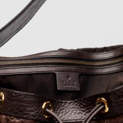 Gucci Guccissima Leather 'Interlocking Icon' Drawstring Hobo