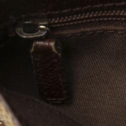 Gucci Brown GG Canvas Belt Bag