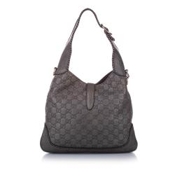 Gucci Brown GG Canvas Jackie Bag