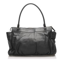 Gucci Black Leather Abbey D-Ring bag