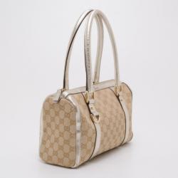 Gucci Monogram Speedy Joy Boston Bag