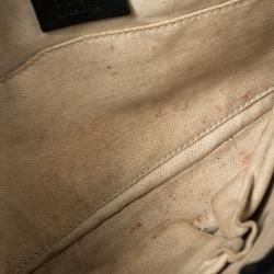 Gucci Black Patent Leather Bright Bit Crossbody Bag