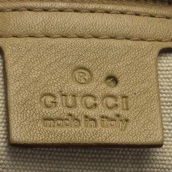 Gucci Tan Leather Vintage Bamboo Top Handle Tote