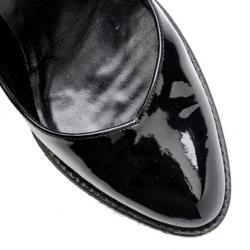Gucci Black Patent Diamond Vernice Pumps Size 35.5