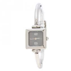 69b008b4de8 Gucci Black Stainless Steel 1900L Women s Wristwatch 19 mm